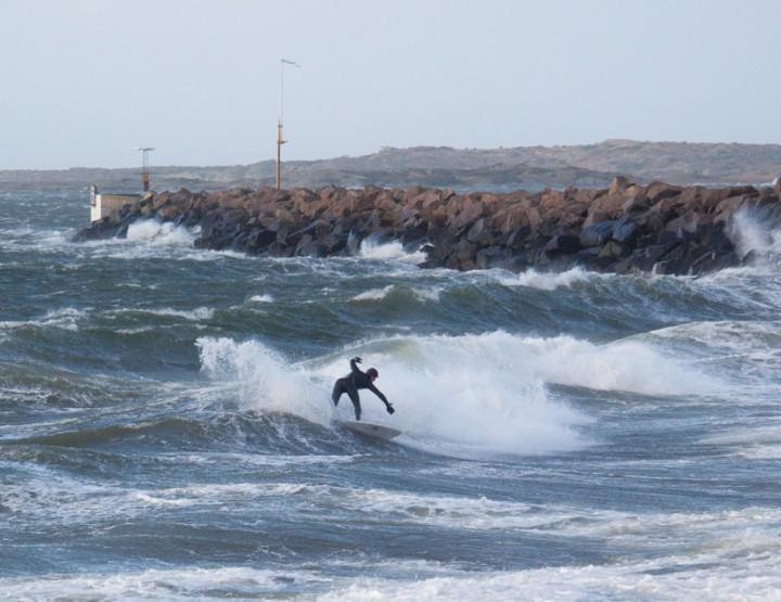 Surfing in Sweden is no joke