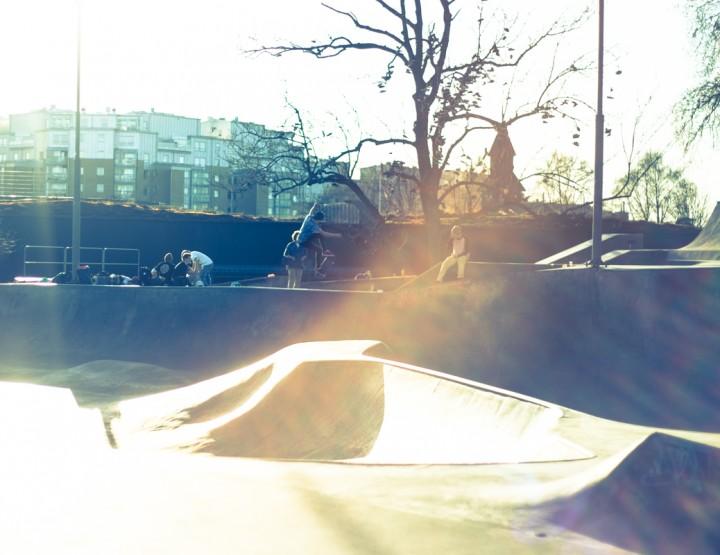 Gothenburg, skate lake